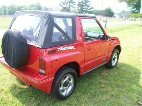 Tracker Jeep Classic 1994 Geo Tracker Convertible Sidekick Jeep Suv Tow