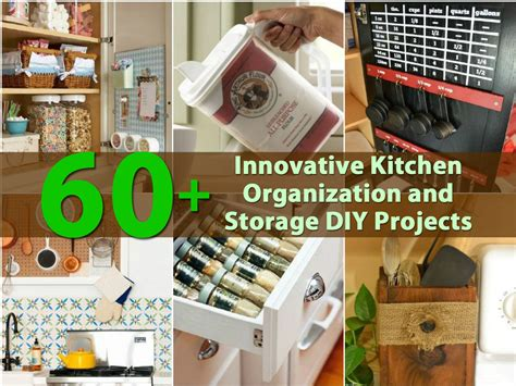 kitchen diy ideas 60 innovative kitchen organization and storage diy