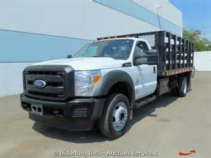 Ford F450 Flatbed Find Used 2011 Ford F450 Xl 14 Flatbed Stake Diesel