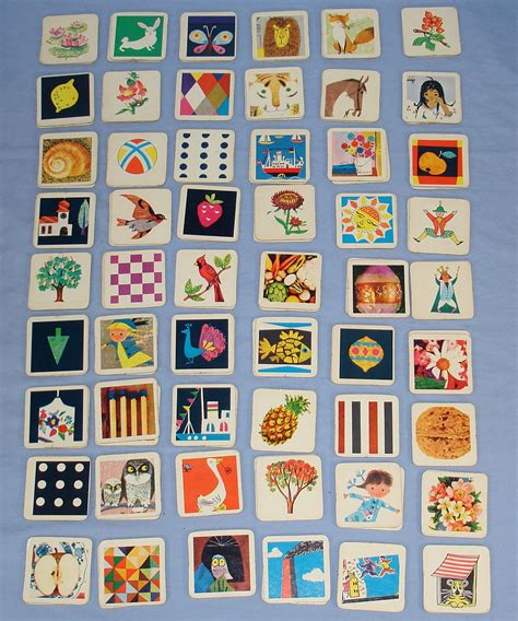 Match Com Gift Card - 1966 milton bradley mb memory card matching game 4664 plastic tray 108 cards