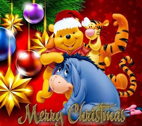 winnie  pooh christmas screensaver festival collections