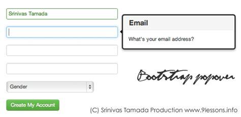 bootstrap tutorial register form bootstrap registration form tutorial