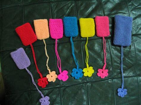 crochet luggage tag httplometscom