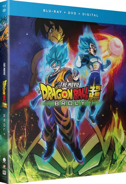 dragon ball super broly blu raydvd