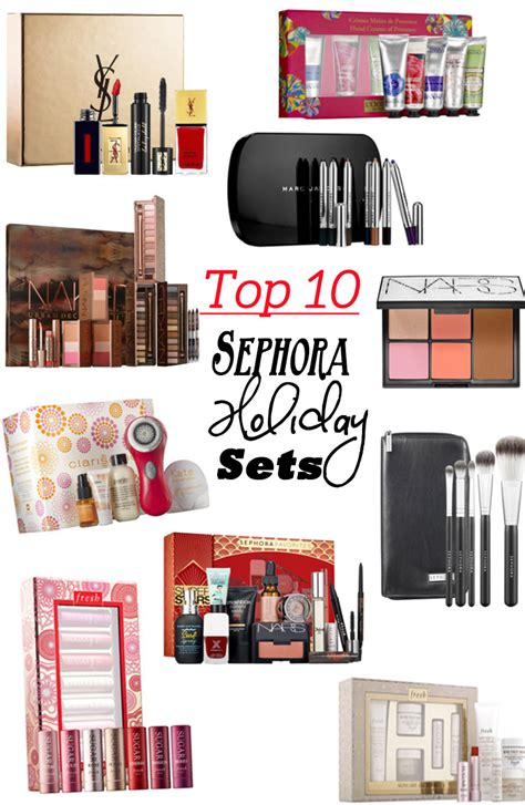 my top ten sephora holiday gift sets