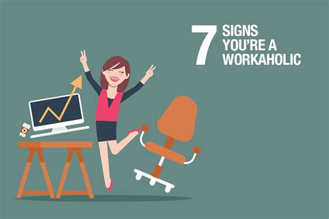 Signs Youre A Shopaholic by Seven Signs You Re A Workaholic And How To Quit