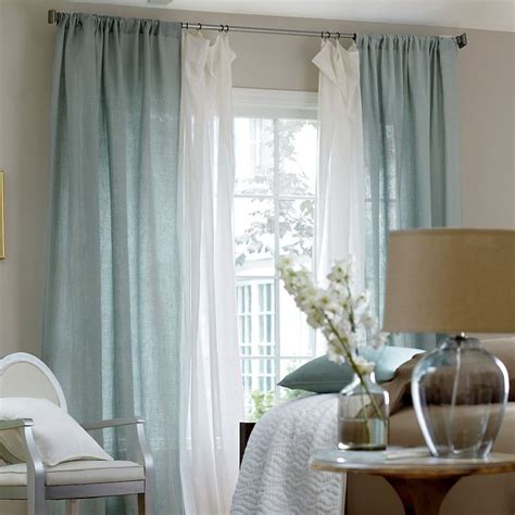 bedroom window curtains and drapes best 25 layered curtains ideas on pinterest curtains