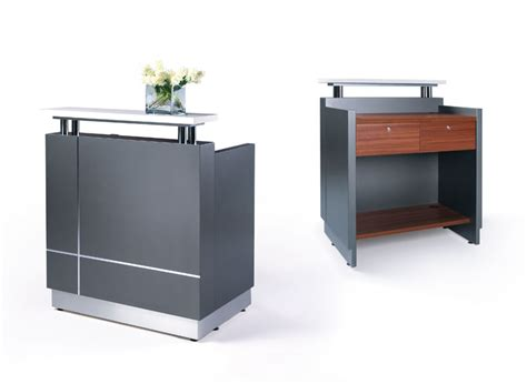 receptionist reception desk techno office furniture