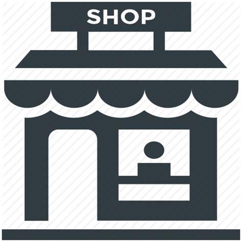 werkstatt symbol booth food stand kiosk stall shop icon icon