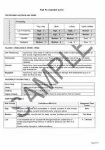 Emergency Risk Assessment Template by Hospital Risk Assessment Template Virtren
