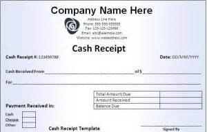 free receipt templates word excel formats