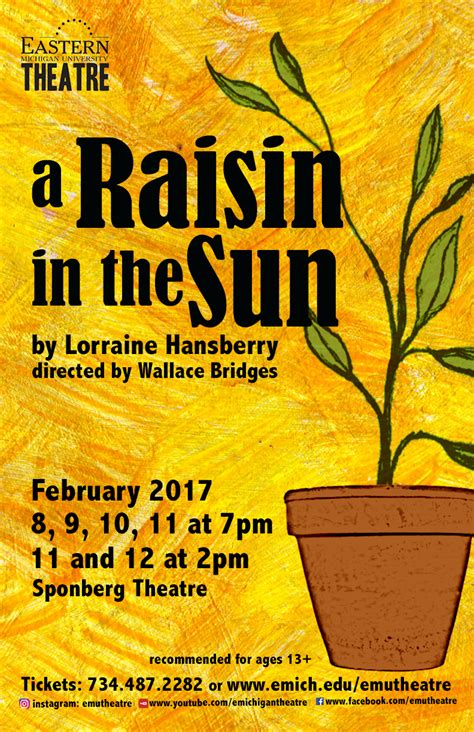 theme of hope in a raisin in the sun emu theatre the theatrical legacy of quot a raisin in the sun quot