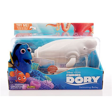 Disney Robo Fish Swimming Finding Dory Bailey disney pixar swimming bailey finding dory robo fish by zuru