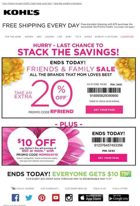discount email template your email coupons work harder getresponse