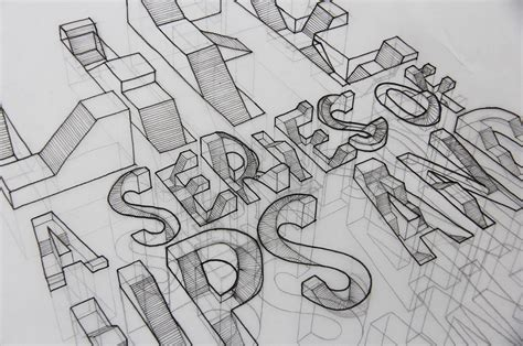3d typography 3d typography by wilson 6r fubiz media