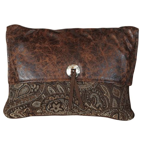 Western Pillows Clearance western bedding western paisley beaumont pocketbook pillow lone western decor