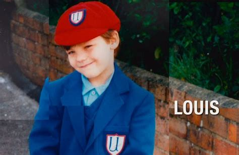 louis tomlinson child one direction childhood pictures revealed harry zayn