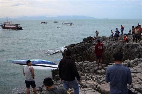 thailand news boat crash thailand speedboat crash british woman killed when packed