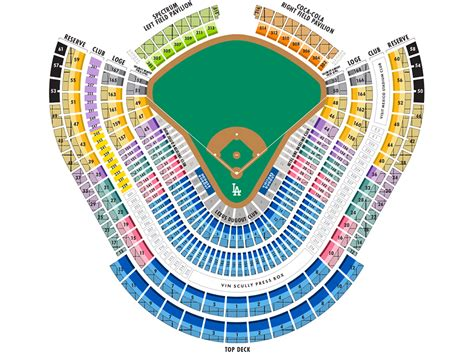 dodger seating chart 91 dodger stadium seating chart la dodgers seating guide