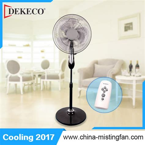 Miyako Stand Fan Kas 1618b 16 Inch highly safe touch electric standing fan functional buy stand fan remote
