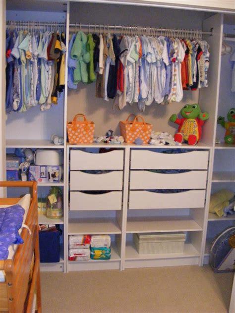 Baby Clothes Closet Organizer » Home Design 2017
