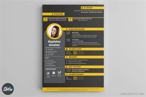 Examples Of Online Resumes by Wzory Cv Kreatywne Szablony Cv Program Do Cv Craftcv