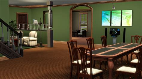 Modern Home Interior Decoration mod the sims midwestern home