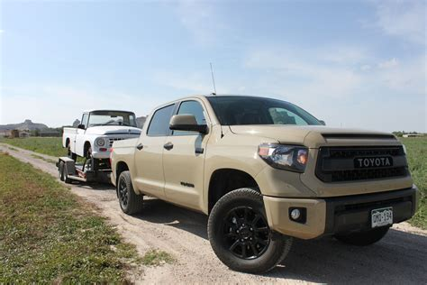 toyota trd pro tundra towing with a 2016 toyota tundra trd pro