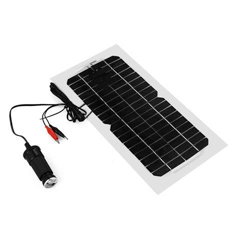 car boat battery charger 5 5w smart solar panal trickle power battery charger for