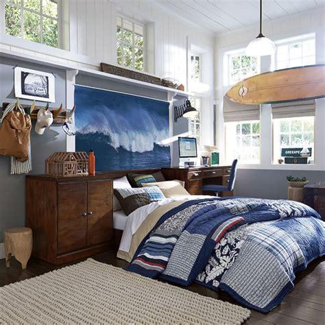 surf bedroom ideas surf fin hook pbteen