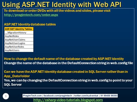 tutorial asp net using c sql server net and c video tutorial using asp net