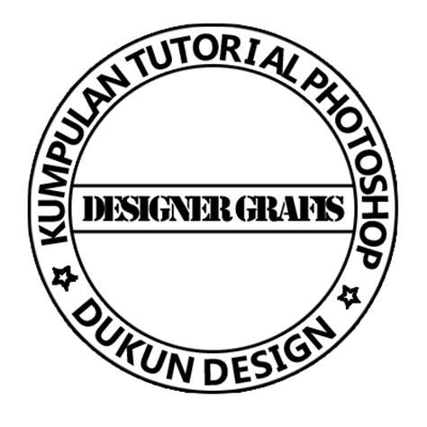 membuat logo huruf di photoshop dukun design cara membuat stempel lingkaran dengan photoshop