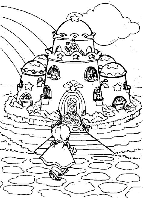 coloring pages for where the things are coloring page rainbow brite coloring me