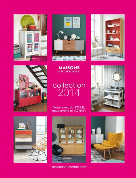catalogue maisons du monde mobilier d 233 coration d
