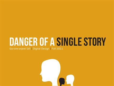 one story presentation danger of a single story