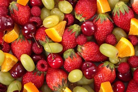 mixed fruit top view of mixed fruit photo free download