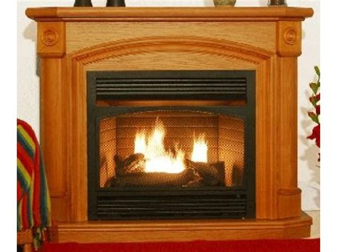 gas fireplace unvented kensington oak dual fuel ventless gas fireplace factory