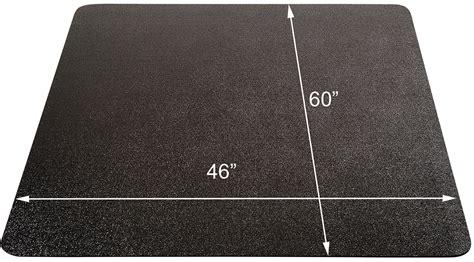 Black Chair Mat by Black Chair Mats For Floors 36 Quot X 48 Quot Rectangular