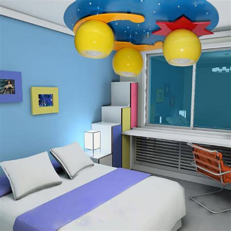 childrens bedroom star ceiling lights blue moon star cartoon bedroom led ceiling lights children