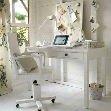 White Office Decorating Ideas Small Home Office Decor Ideas