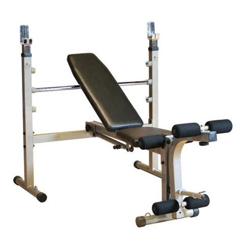 gym bench with weights body solid best fitness olympic weight bench