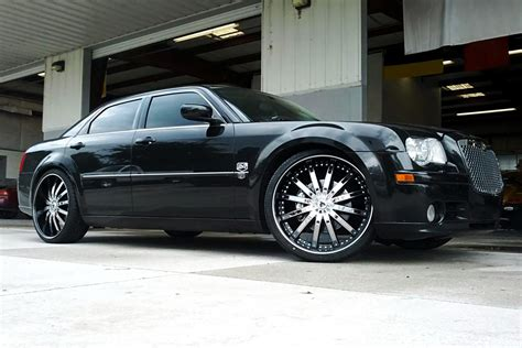 Black Rims For Chrysler 300 by Chrysler 300 Black Chrome Wheels