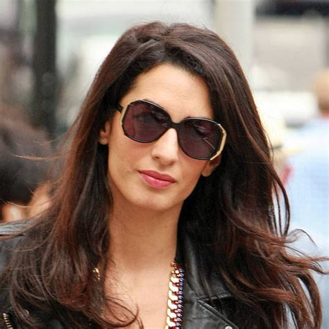 is amal clooney hair one length george clooney s wife is ranked most powerful woman in