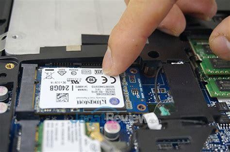Kabel Data Asus Tidak Terbaca Di Pc tutorial memasang ssd msata pada notebook jagat review