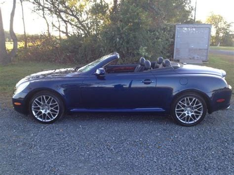 lexus convertible 4 door find used 2002 lexus sc430 base convertible 2 door 4 3l in