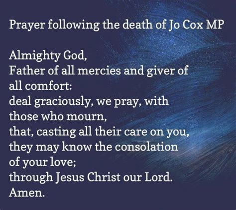 prayer of comfort death the diocese of sheffield