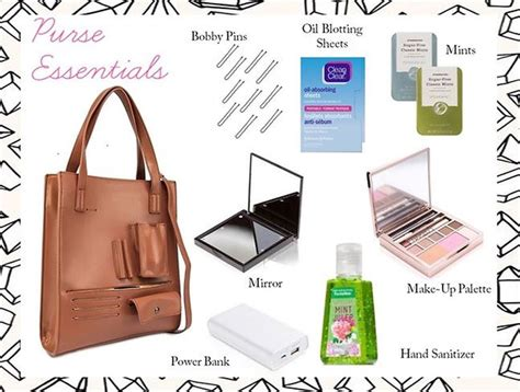 12 Things Every Should In Purse by 10 Things Every Should In Purse Thread By