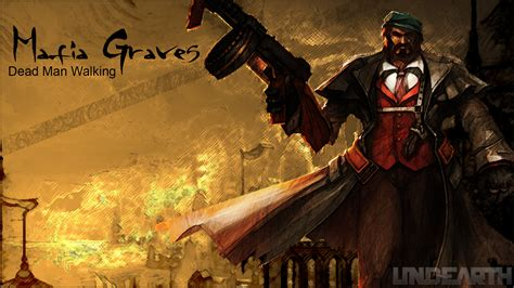 league  legends graves background gaming hd wallpaper