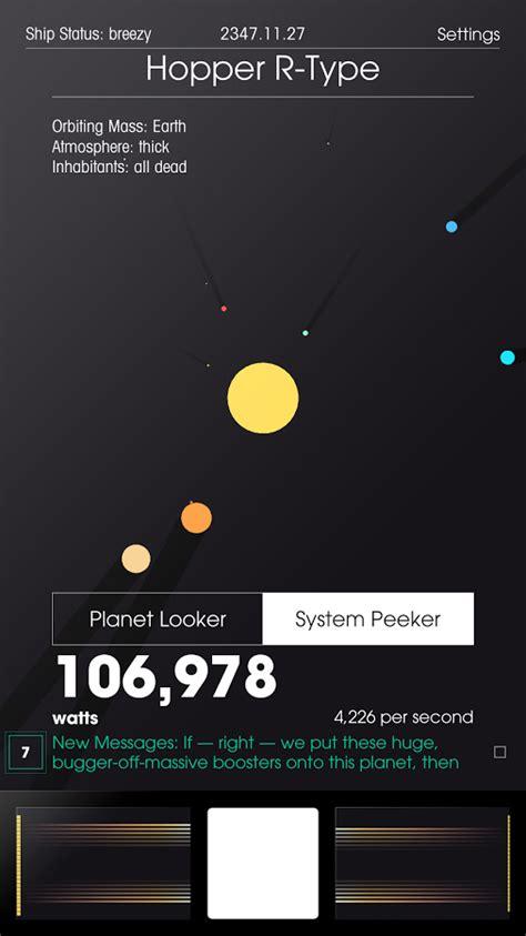 space plan game scoprite i segreti di cinque bizzarri pianeti nel clicker