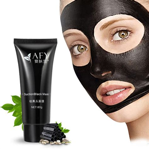 Masker Black Mask mask afy suction black mask cleansing tearing